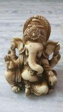 Handmade Unique Marble-dust  Ganesha Statue
