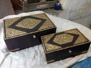 Woden Jewellry Box