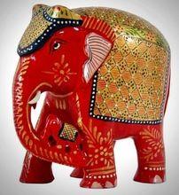 Wooden Decor Elephant Figure/collectible