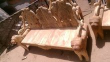 Wooden Hand Carved Sofa Set