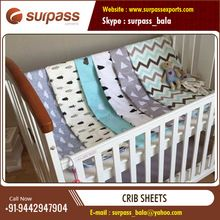 Muslin Baby Fitted Crib Sheet