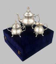 Brass Tea Set Silver