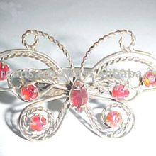 CRYSTAL BUTTERFLY NAPKIN RING