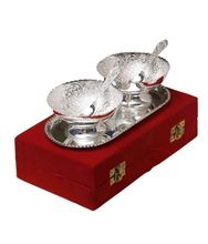 Silver Plated With Velvet Gift Box