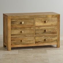 Mango Wood Drawer Dresser