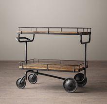 Vintage Bar Trolley