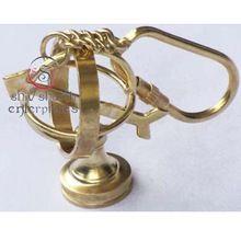 Nautical Armillary Keychain