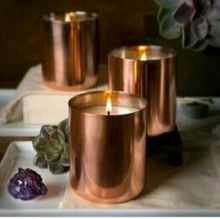 Copper Jar Candle Votive