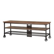 Industrial Tv Stand