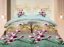Digital Transfer Printing Cotton 3d Bedding Set