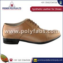 Waterproof Synthetic Shoes Leather Fabric