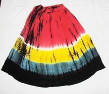 Tie Dye Cotton Skirts