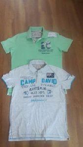 Mens Surplus Collar T-shirt