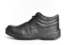 Low Cut Leather Safety Working Shoes