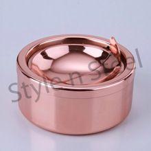 Copper Round Ash Tray