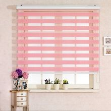 Aluminum Chain Operation Zebra Blinds Curtains
