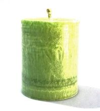 Green Pillar Candle
