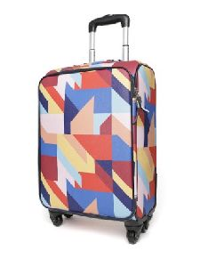 Printed Hard Luggage Trolley Bag