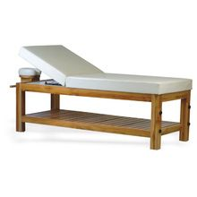 Solid Teak Wood Spa Massage Table