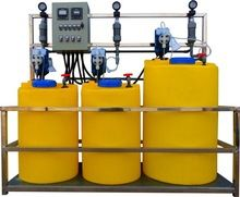 Lldpe Cylindrical Dosing Tank System