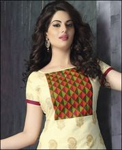 Designer Printed Cotton Party Wear Salwar Suit
