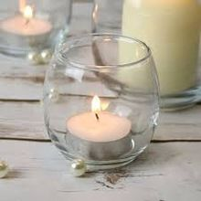 Polly Glass Jar Candle Holder