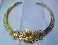 Brass Designer Choker Necklace