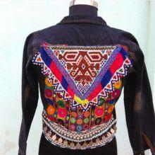 Denim Banjara Jacket Gypsy Style