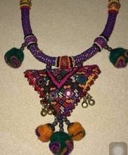 Designer Tribal Kutchi Necklace