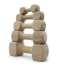 Wooden Dog Dumbbell Toy For Pet