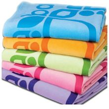 Cotton Soft Jacquard Beach Towel