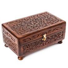 Tibetan Wooden Jewelry Boxes