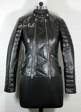 Sheep Nappa Leather Fashion Jacket