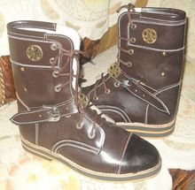 Medieval Fancy Leather Boots