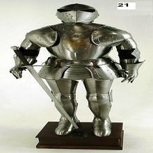 Medieval Full Suit Of Armor Reproduction