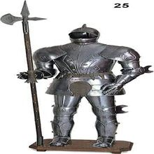 Medieval Gothic Suit Of Armor Replica