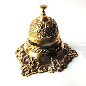 Nautical Brass Engraving Peon Bell