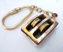 Nautical Pulley Keychain