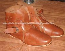 Roman Armor Ankle Shoes