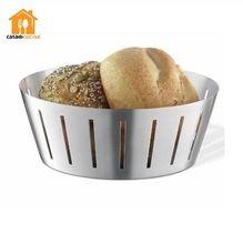 Stainless Steel Economy Bread Basket Food Basket