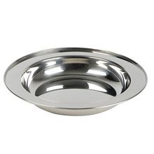 Stainless Steel Soup Dish Dinner Plate
