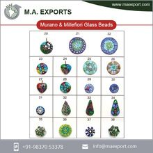 Handmade Multi Color Glass Beads