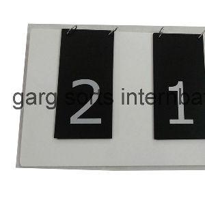 Acrylic Score Board