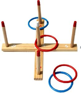 Toss Ring Wooden Toy