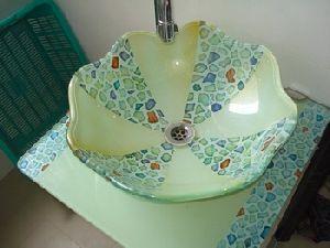 Glass Wash Basin Bowl
