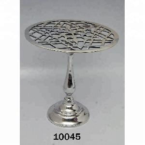 Chrome Plated Aluminum Stool