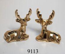 Decorative Brass Deer