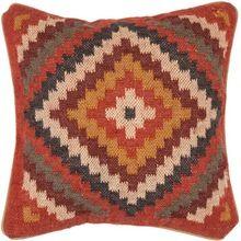 Hand Woven Cotton Kilim Cushion Cover