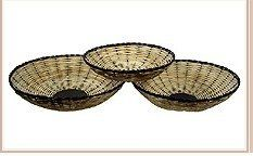 Bamboo Oval Baskets