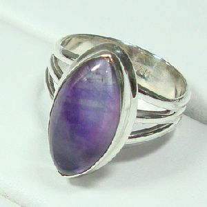Handmade Amethyst Fashion Ring